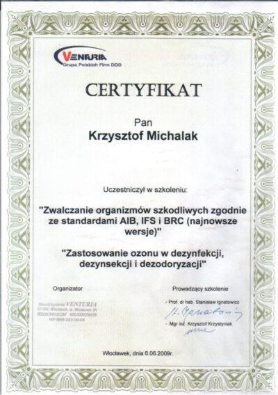 KVent IFS,BRC2009 POPR OZON